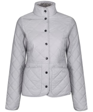 Women's Barbour x Sam Heughan Fell Quilted Jacket - Ice White