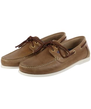 Men's Dubarry Port Deck Shoes - Taupe