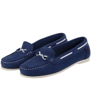 Women's Dubarry Rhodes Boat Shoes - Royal Blue