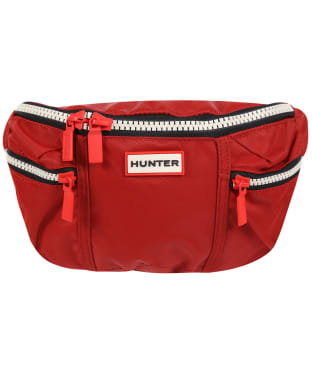 Hunter Original Nylon Bum Bag - Military Red