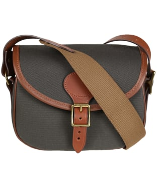 Croots Rosedale Canvas Cartridge Bag - Green / Tan