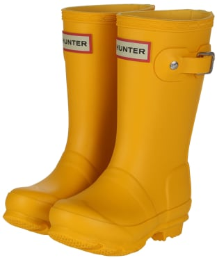 Hunter Original Kids Wellington Boots, 7-11 - New Yellow