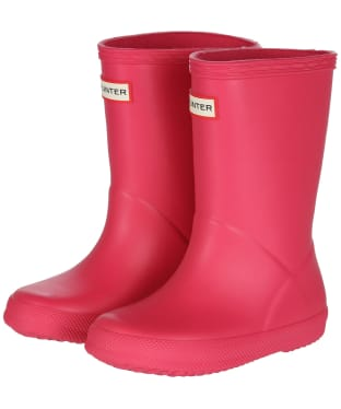 Hunter Kids First Classic Wellington Boots - Bright Pink