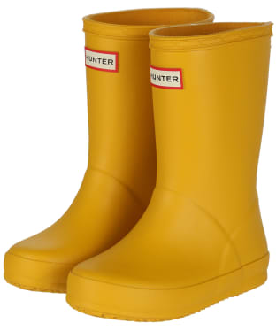 Hunter Kids First Classic Wellington Boots - New Yellow