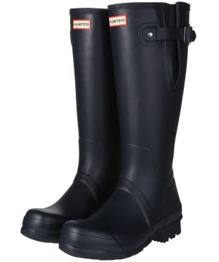 Men's Hunter Original Side Adjustable Wellington Boots - Navy