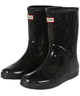 Hunter Kids First Classic Starcloud Wellington Boots - Black Multi