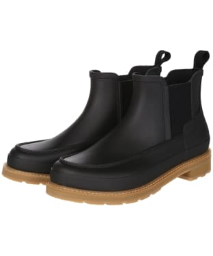 Men's Hunter Original Moc Toe Chelsea Boots - Black