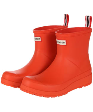 Women's Hunter Original Play Short Wellington Boots - Light House