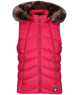 Girl's Barbour Bernera Gilet, 2-9yrs - Grenadine