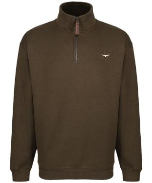 Men's R.M. Williams Mulyungarie Fleece Sweatshirt - Dark Olive