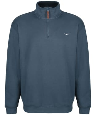 Men's R.M. Williams Mulyungarie Fleece Sweatshirt - Slate Blue
