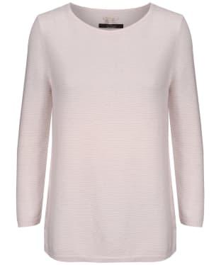 Women's Barbour x Sam Heughan Livingstone Sweater - Pale Pink