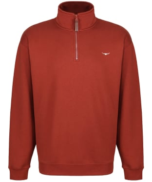 Men's R.M. Williams Mulyungarie Fleece Sweatshirt - Russet