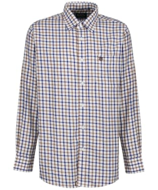 Men's Alan Paine Ilkley Shirt - Brown Check