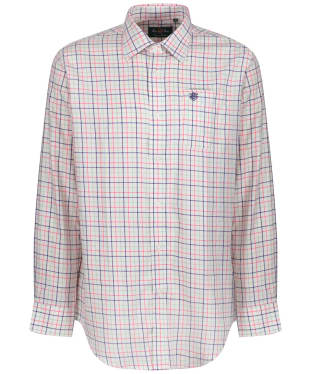 Men's Alan Paine Ilkley Shirt - Pink Check