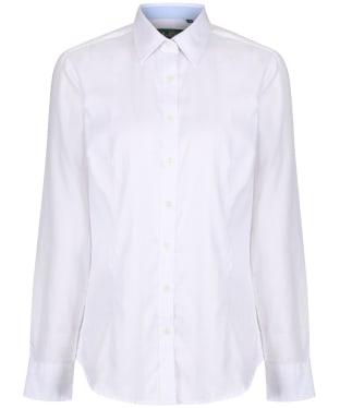 Women's Alan Paine Bromford Shirt - White