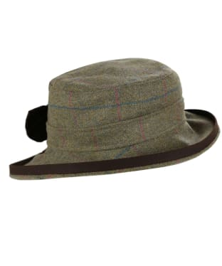 Women's Alan Paine Combrook Tweed Hat - Juniper