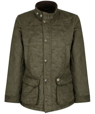 Men's Alan Paine Felwell Quilted Jacket - Dark Olive