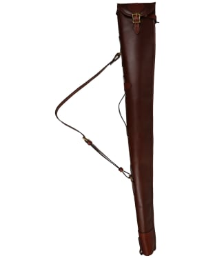 Alan Paine Leather Gun Slip - Brown