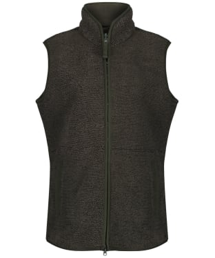 Women's Alan Paine Buxton Fleece Gilet - Dark Green