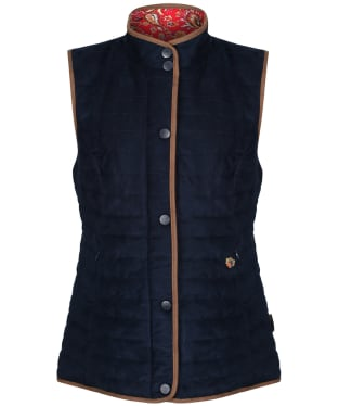 Women's Alan Paine Felwell Quilted Gilet - Navy