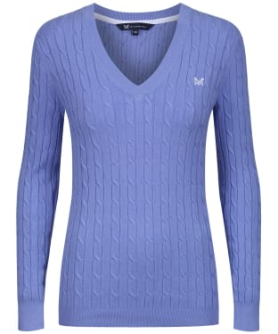 Women's Crew Clothing Summer Heritage Cable Jumper