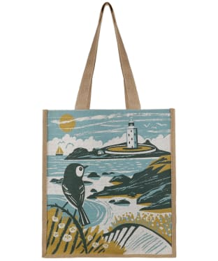 Women's Seasalt Jute Shopper Bag - To The Lighthouse