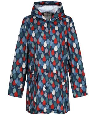 Women's Seasalt Pack It Waterproof Jacket - Lino Drops Granite