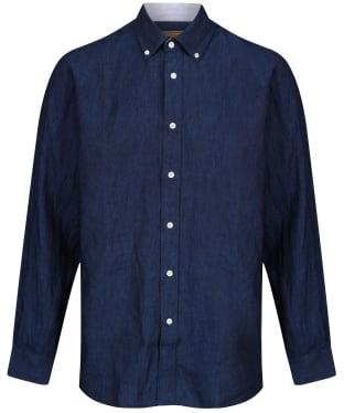 Men's Schoffel Sandbanks Linen Shirt