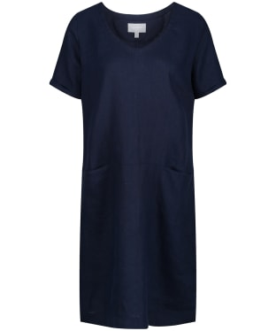 Women's Schoffel Athena Linen Dress - Navy