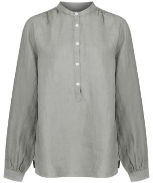 Women's Schoffel Athena Linen Shirt - Sage