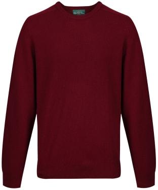 66ce8675c7a Men s Alan Paine Burford Crew Neck Sweater - Bordeaux