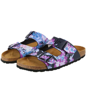 Women's Joules Penley Sandals - Dark Blue Floral