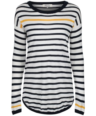Women's Dubarry Abbeyside Sweater - White Multi