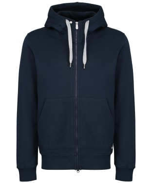 Men's Fjallraven Greenland Zip Hoodie - Dark Navy