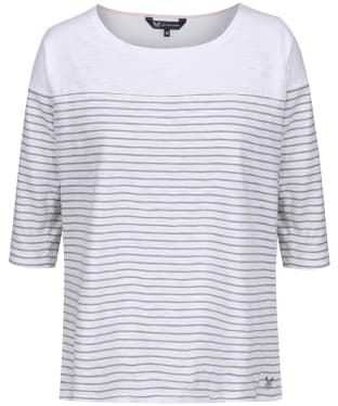 Women's Crew Clothing Drop Shoulder T-Shirt - Sage