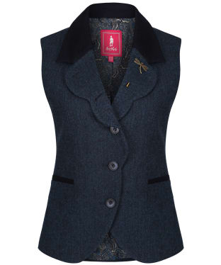 Women's Jack Murphy Poppy Tweed Gilet