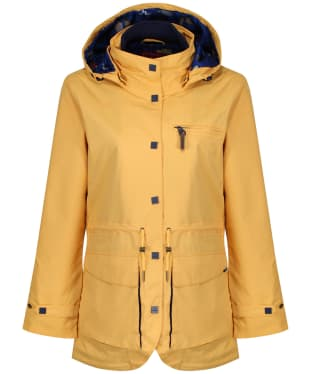 Women's Jack Murphy Holly Waterproof Coat - Lemon Drop