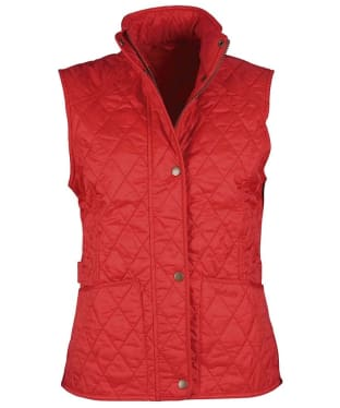 Women's Barbour Summer Liddesdale Gilet - Red