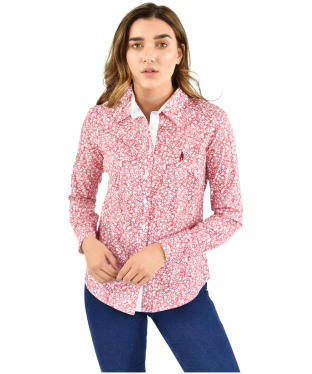 Women's Jack Murphy Bree Shirt - Red Botanics