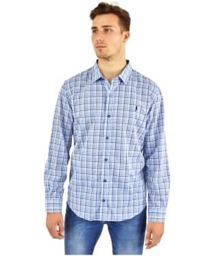 Men's Jack Murphy Monty Shirt - Blue Field