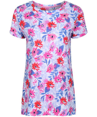b246a8244ef3 Women s Joules Nessa Print T-Shirt - White Multi Floral