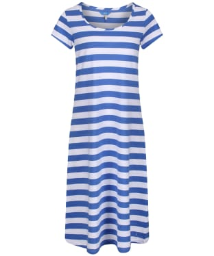 Women's Joules Rayma Swing Dress - Blue / White Stripe