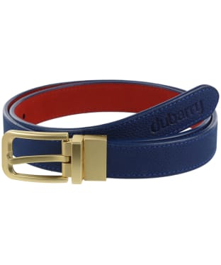 Dubarry Foynes Reversible Leather Belt - Royal Blue