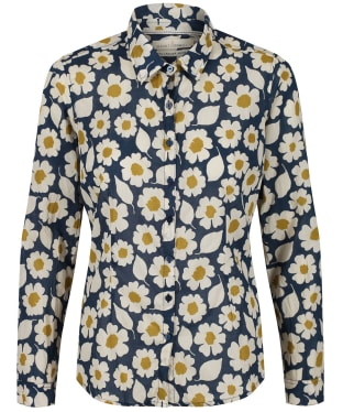 Women's Seasalt Larissa Shirt - Swatch Floral Light Squid