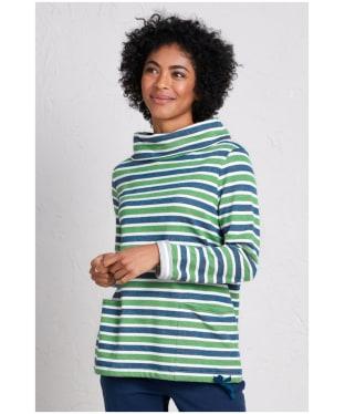 Women's Seasalt Low Seas Sweatshirt - Breton Night Hedgerow