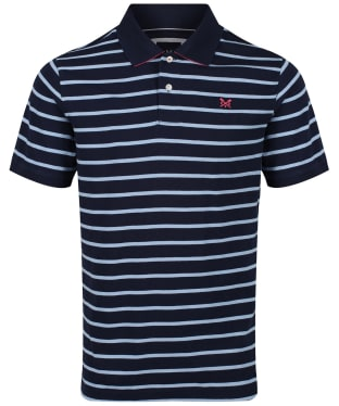 Men's Crew Clothing Narrow Stripe Polo Shirt