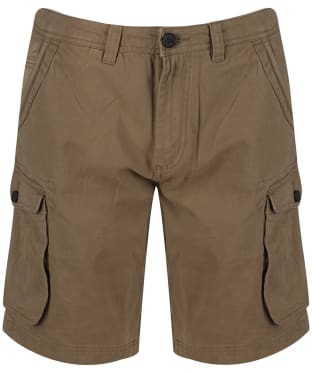 Men's Crew Clothing Woodacombe Cargo Shorts - Tan
