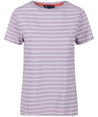 Women's Crew Clothing Breton Top - Lavender