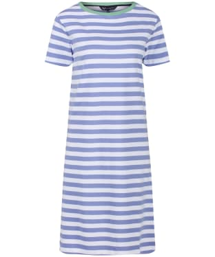 240543d891 Women's Crew Clothing Breton Dress - Hyacinth / White